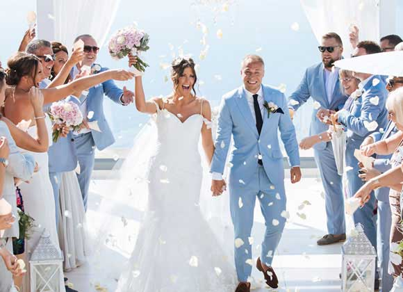 san torino wedding dresses
