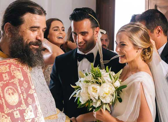Greek Church Wedding