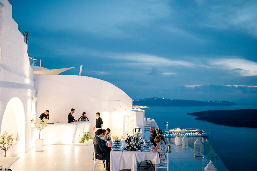 Dana Villas Wedding Venue Santorini Wedding Venues