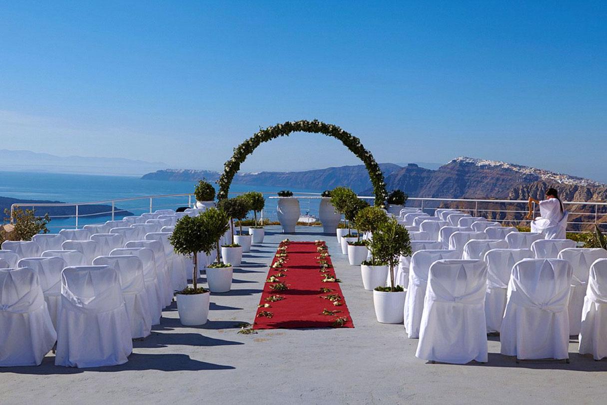Suites of the Gods Wedding Venue| Santorini Wedding Venues & Locations