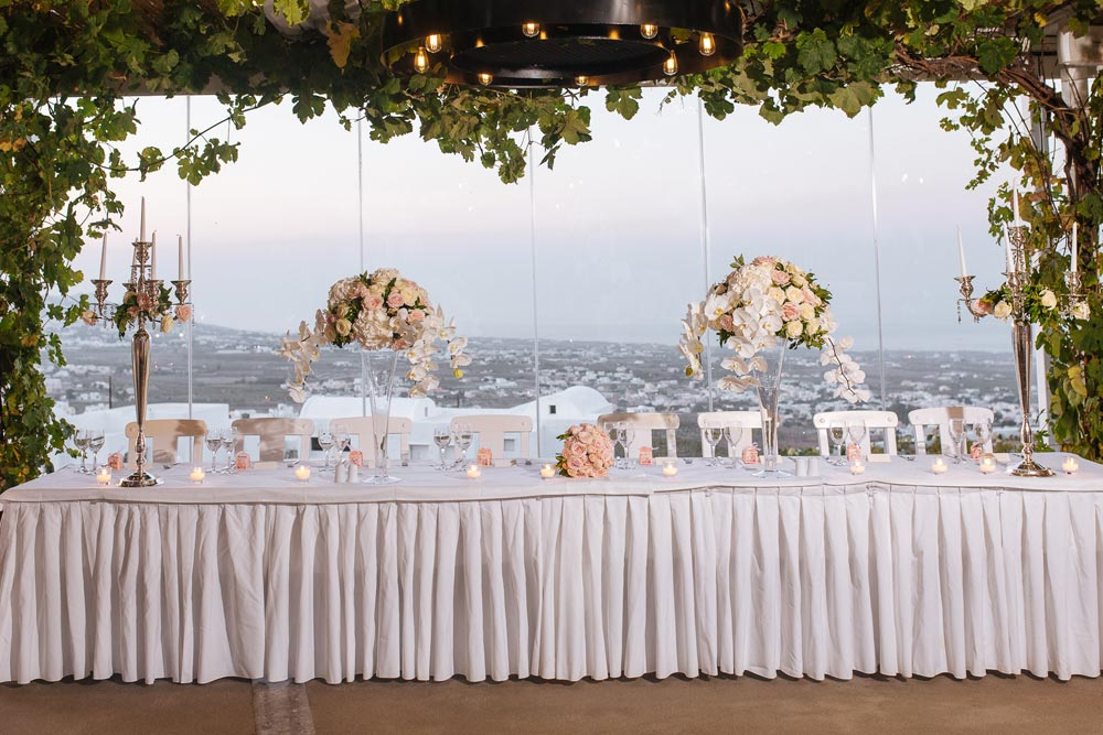 Pyrgos Restaurant Wedding Reception In