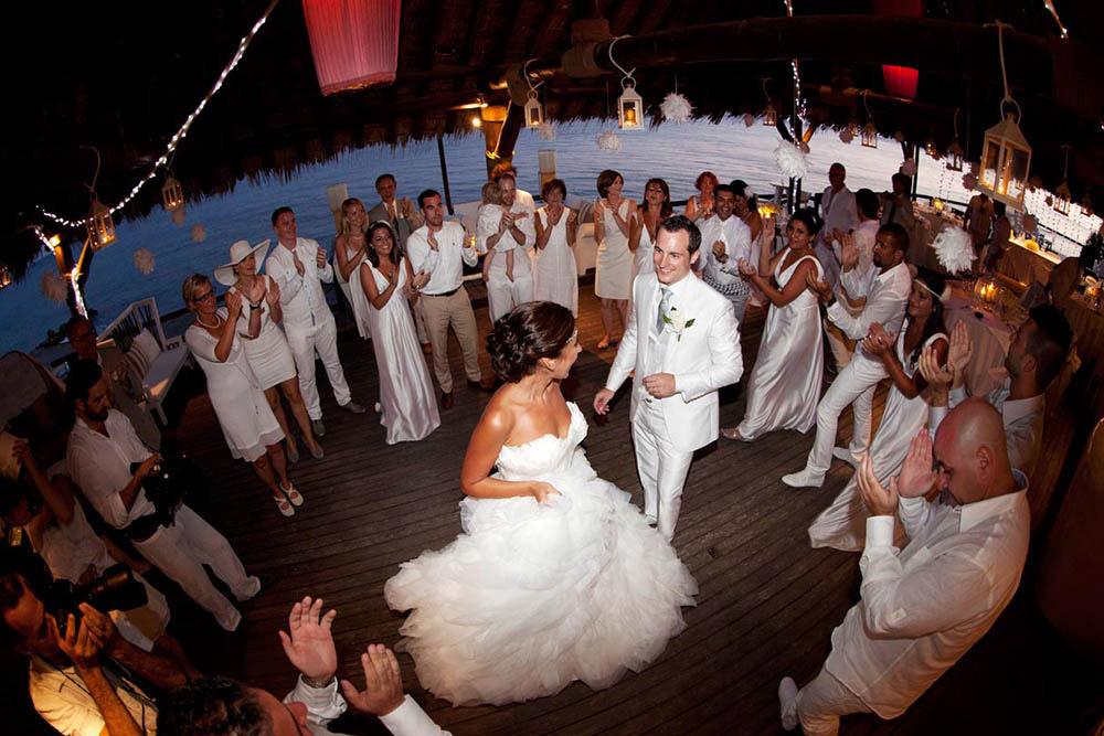 theros beach bar wedding venue